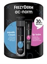 AC-NORM AQUATIC CREAM & AC-NORM LIP BALM SPF 15 με -30% ΕΚΠΤΩΣΗ