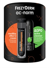 AC-NORM MEDILIKE EFFECT 2 CREAM ΜΕ ΔΩΡΟ ΔΕΙΓΜΑ AC-NORM ACTIVE CLEANSER