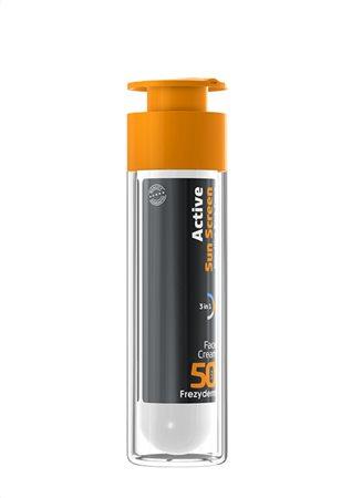 active sunscreen face cream spf50 3d2
