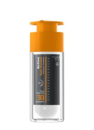 active sunscreen face foundation 3d5
