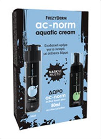 AC-NORM AQUATIC CREAM ΜΕ ΔΩΡΟ AC-NORM ACTIVE FOAM 80ml