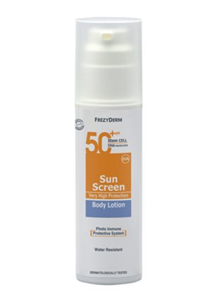 SUN SCREEN BODY LOTION SPF 50+