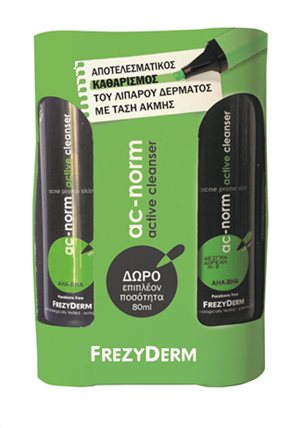 AC-NORM ACTIVE CLEANSER ΜΕ ΔΩΡΟ ΕΠΙΠΛΕΟΝ ΠΟΣΟΤΗΤΑ